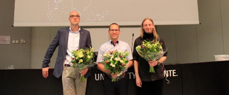 Erwin Hans winnaar Centrale Onderwijs Prijs